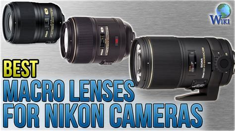 8 Best Macro Lenses For Nikon Cameras 2018 - YouTube