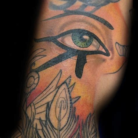 50 Eye Of Horus Tattoo Designs For Men - Egyptian