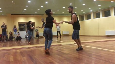 Samuel Funflow & Dotty Ujszaszi - Salsa on2 workshop