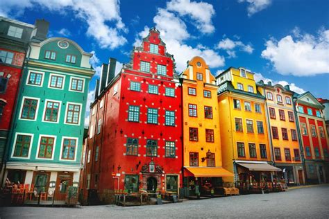 Explore the sights of Sweden's historic Gamla Stan