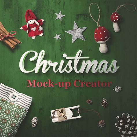 25 Best Christmas Mockup PSD Templates | Web & Graphic