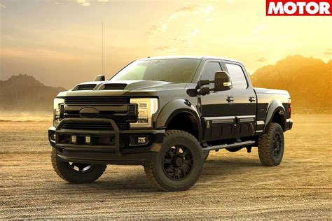 Ford F-250 Tuscany Black Ops announced for Australia