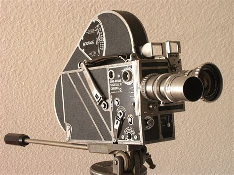 Movie cameras were designed all around the world at the