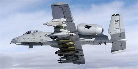 The Fairchild Republic A-10 Thunderbolt II (Warthog)