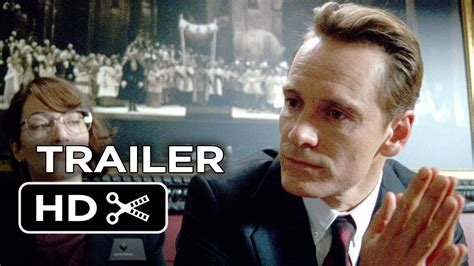 Steve Jobs Official Trailer #1 (2015) - Michael Fassbender
