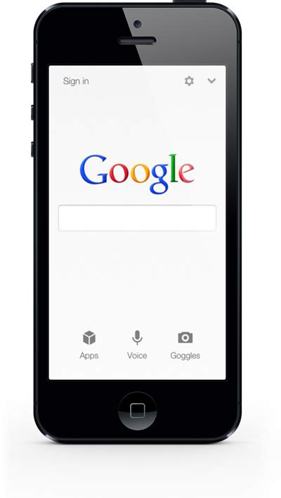 Google Search App For iOS Updated With Support For iPhone