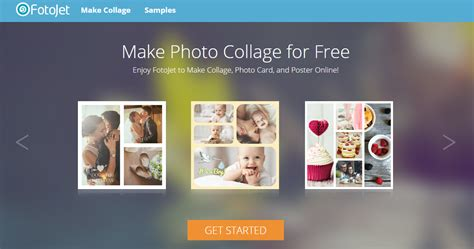 FotoJet – Free Online Collage Maker that Helps You Create