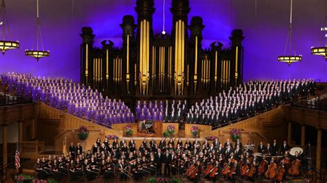 "The Tabernacle Choir and Orchestra ""He Is Risen: A Sacred"