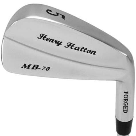 Henry Hatton Forged Muscle Back MB-70 3-PW in GOLF IRON HEADS