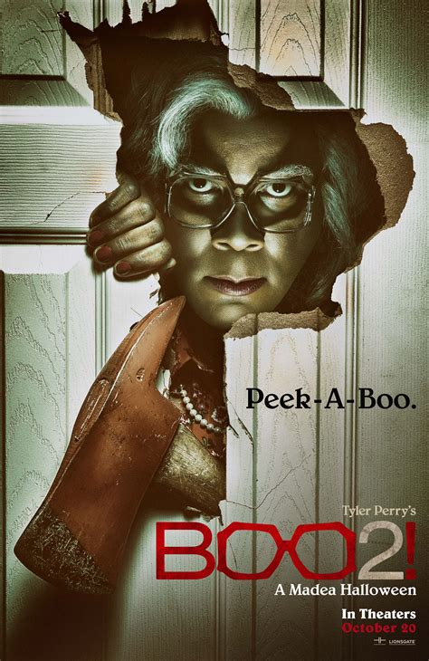 Poster & Teaser Trailer To Tyler Perry's 'Boo 2! A Madea