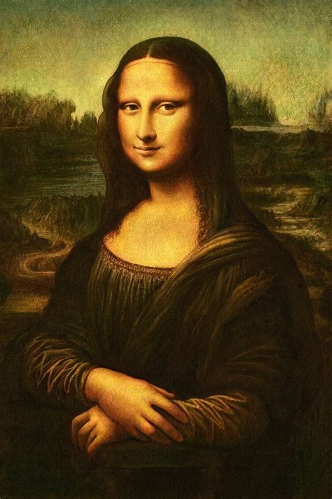 Mona Lisa Painting by Leonardo Da Vinci