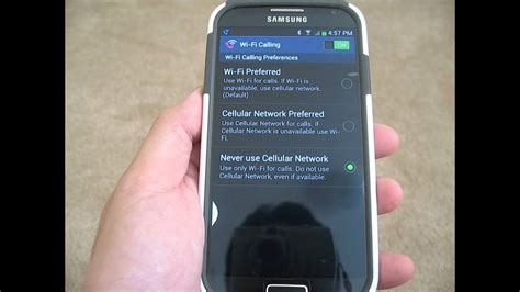 SMS Text Messaging via T-Mobile Wi-Fi Calling - YouTube