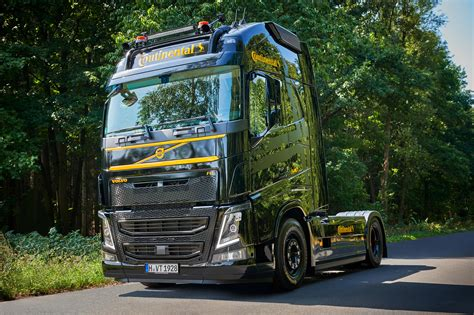 Continental Presents Volvo FH as Demo Truck | Truck & Bus News