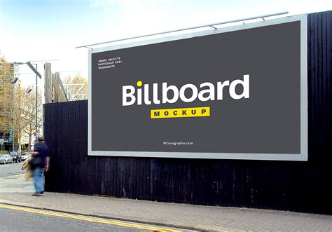 Billboard Free Mockup Set (8 PSD files) | Mockup World HQ