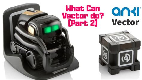 What Can Anki Vector Do [Part 2] - YouTube