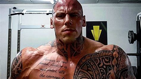 Martyn Ford Training for Movie Boyka: Undisputed 4