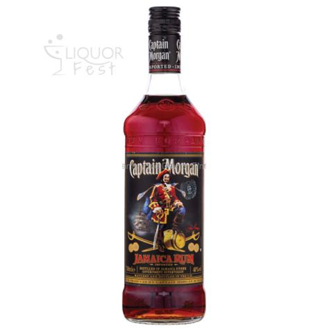 Captain Morgan Jamaica Rum - Liquor Fest