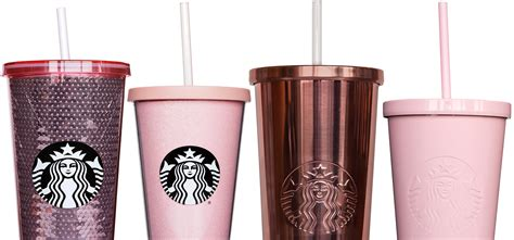 Rose Gold Starbucks Tumblers Exist and They're So Pretty