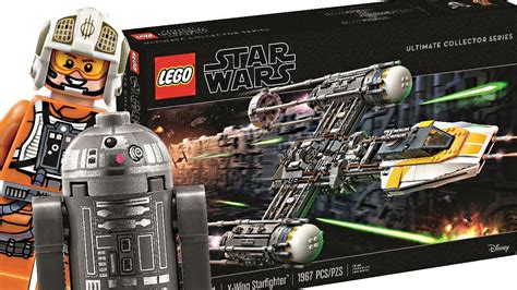 LEGO Star Wars UCS Y-Wing 2018 set! Another beautiful box