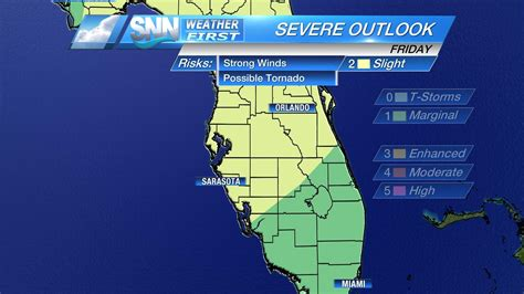 Severe weather possible in Sarasota-Manatee on Good Friday