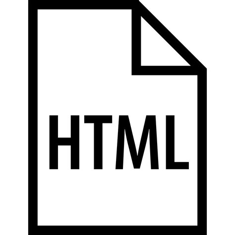 HTML Filetype Icon - Free Download at Icons8