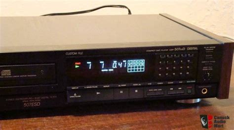 Sony ES 507 ESD CD Player (Sale Pending to Duc) Photo