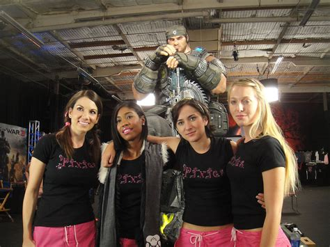 File:Noobz Movie Shoot - the Pixies, rival gamer girls