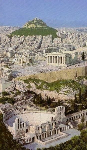 This is Athens with the Acropolis
