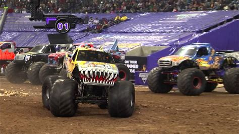 Monster Jam in Reliant Stadium - Houston, TX 2014 - Full