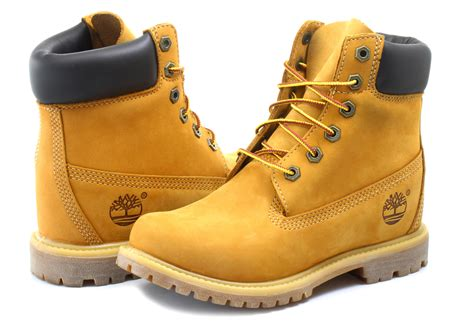 Timberland Bakancs - 6 Inch With Wedge - 8226A-WHE