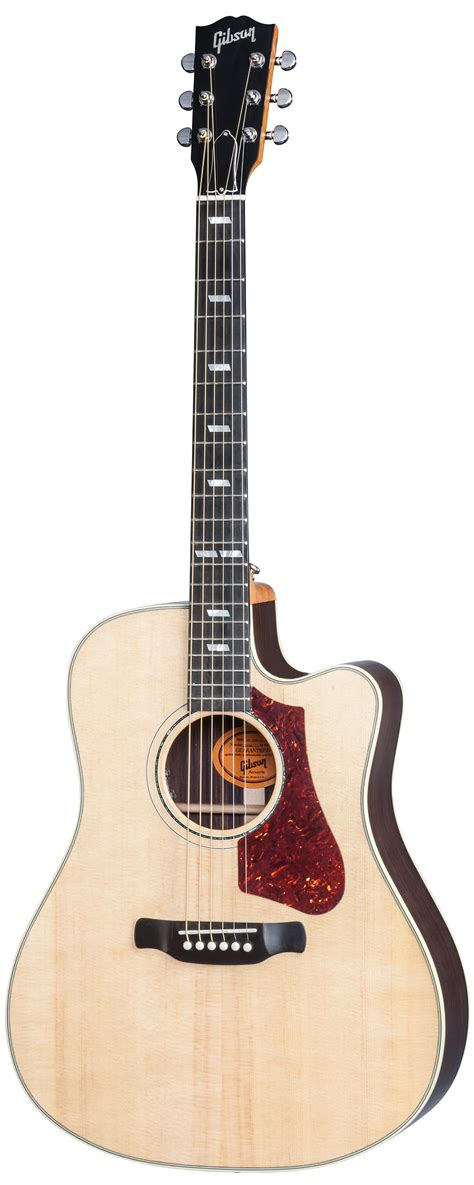 Gibson 2017 HP735 R Electro Acoustic Guitar, Natural