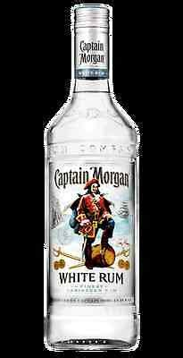 Captain Morgan White Jamaica Rum bottle 70cl cocktail rum