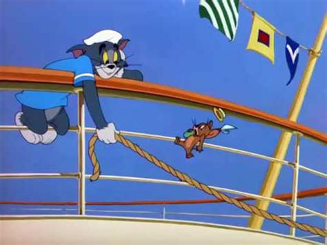 Tom and Jerry- Ep 71 - Cruise Cat (1952) - YouTube