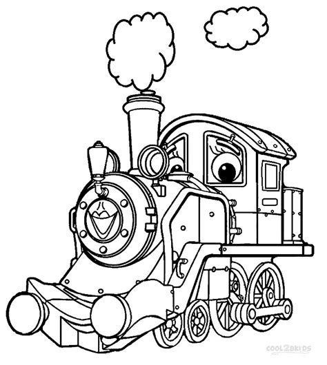 Printable Chuggington Coloring Pages For Kids | Cool2bKids