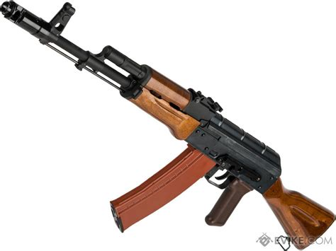 WE-Tech AK-74 with Wood Furniture Airsoft Gas Blowback