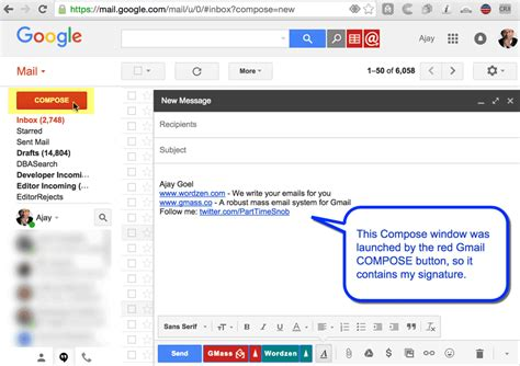 Why your Gmail signature doesn't show up when GMass