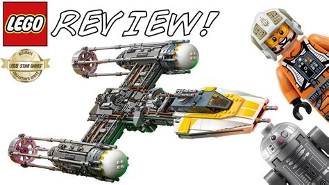 LEGO Star Wars 75181 UCS Y-Wing Starfighter Review! | 2018