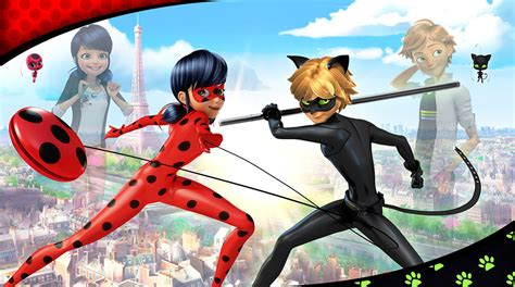 """NickALive!: """"Miraculous Tales Of Ladybug & Cat Noir"""" And"""