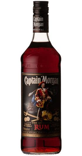 Captain Morgan Dark Rum 6/70 40%
