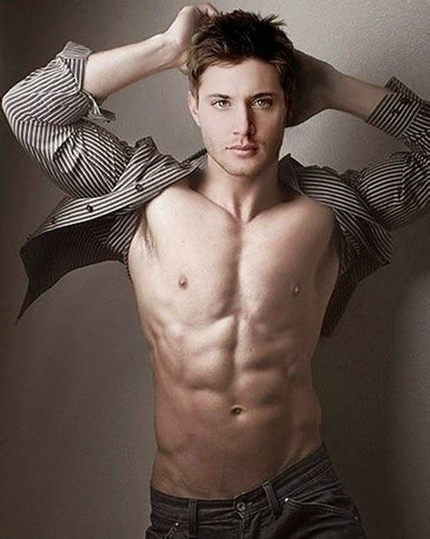 American Actor Jensen Ackles Sexy Body