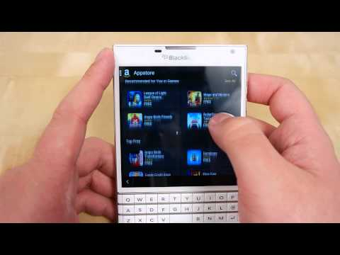 BlackBerry Passport Test Unit Gets Reviewed Ahead of