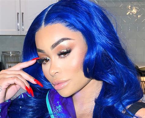 Blac Chyna Debuts New Hair Color Ahead Of Christmas After