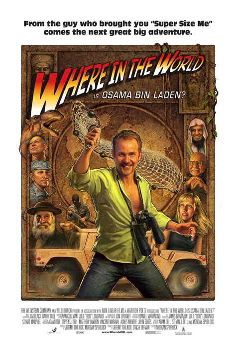 Final Poster Art Released For Morgan Spurlock's 'Where in
