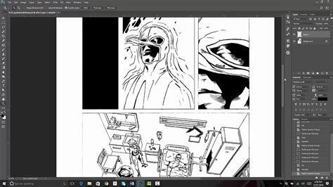 Creating Comic Book Panels in Adobe Photoshop - YouTube